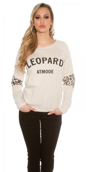 "Trendy KouCla Pullover ""Leopard"""