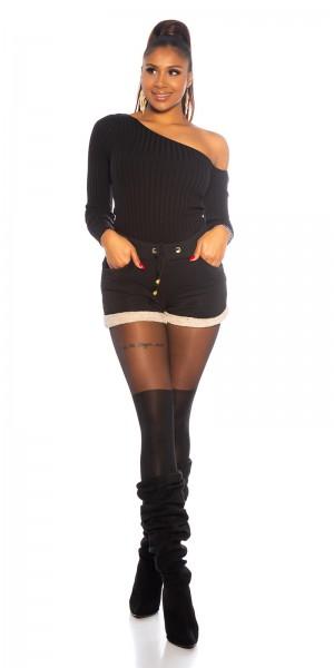 Sexy Short mit Teddysaum