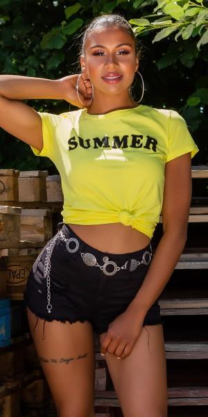 """Trendy """"Summer"""" T-Shirt"""
