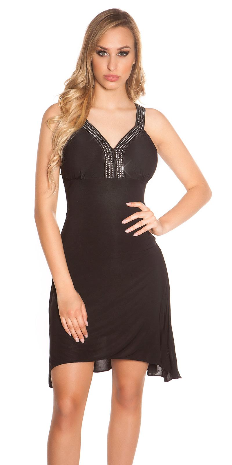 Plesové šaty 0000K4056 - Black