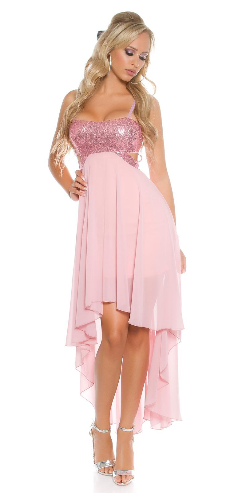 Plesové šaty 0000K9325 - pink