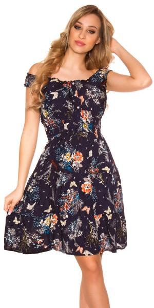 Trendy Sommerkleid mit Print