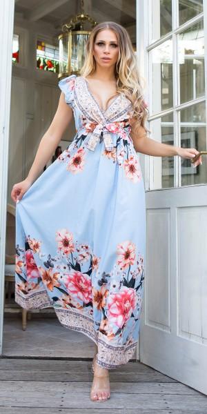 Sexy Kleid mit Tiefem Front und Back Ausschnitt