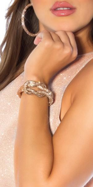 Sexy Knoten Armband/ Magnetverschluss
