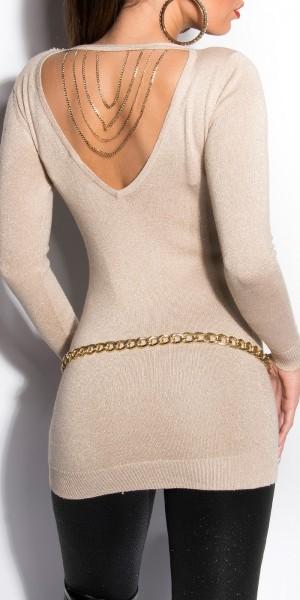 Sexy KouCla Lurex-Pullover