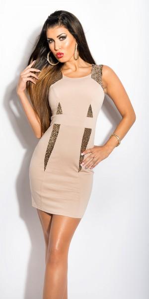 Sexy KouCla Etui-Kleid mit Pailletten