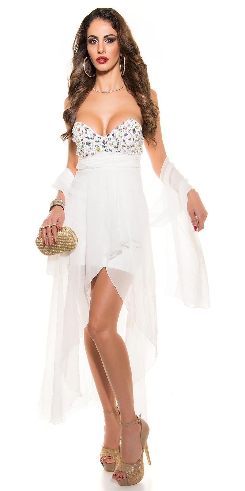 Plesové šaty 0000IN50569 - white