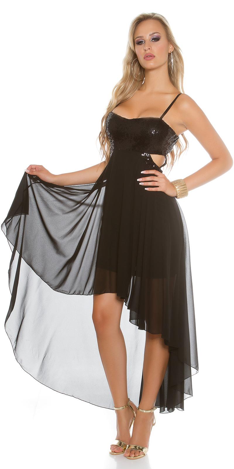 Plesové šaty 0000K9325 - Black