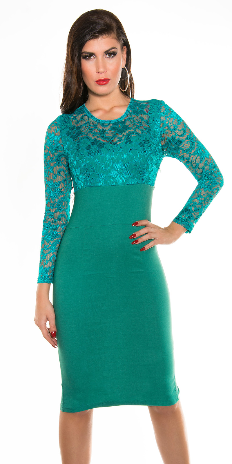 Plesové šaty 0000K9111 - Safir