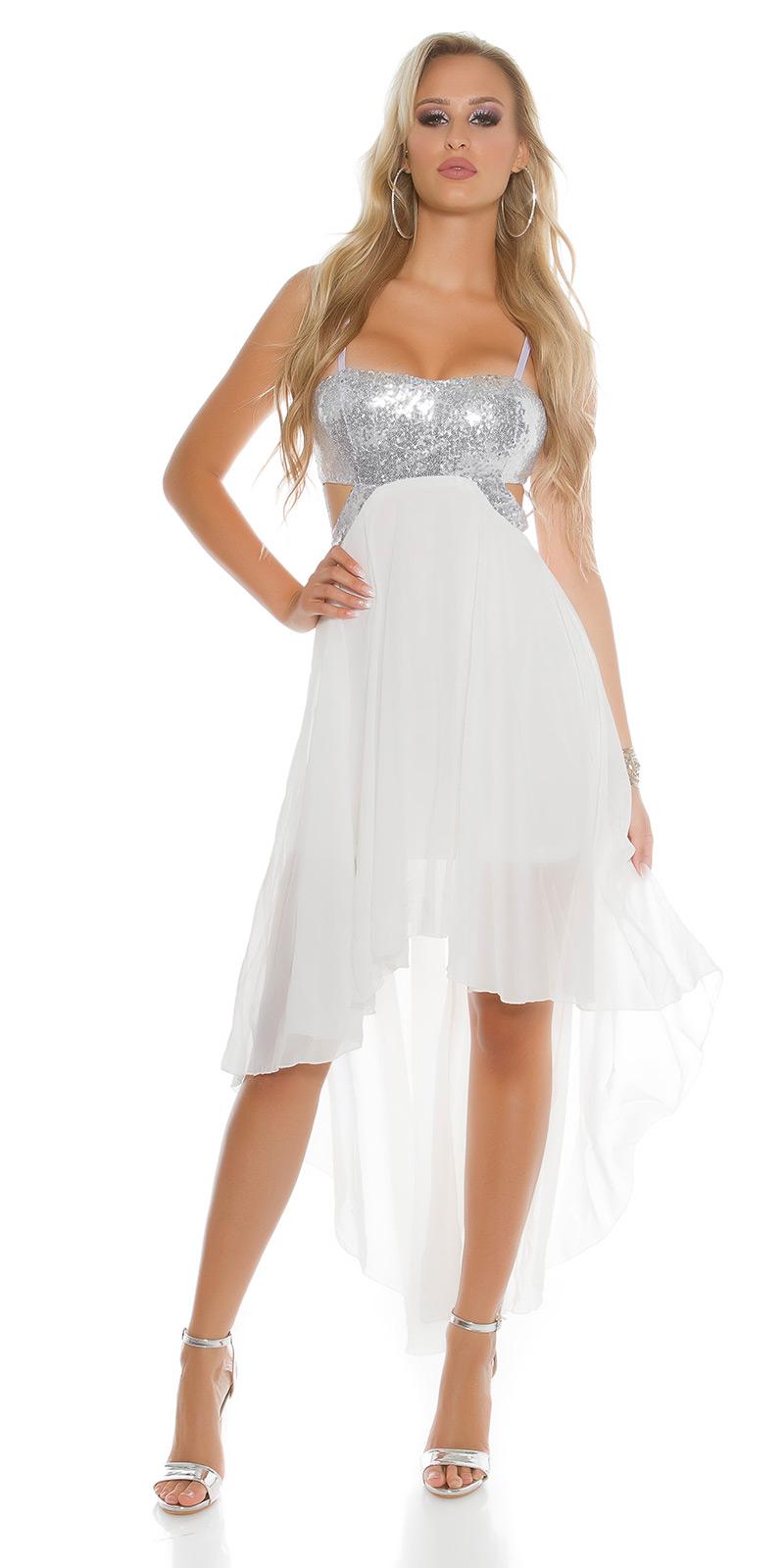 Plesové šaty 0000K9325 - white
