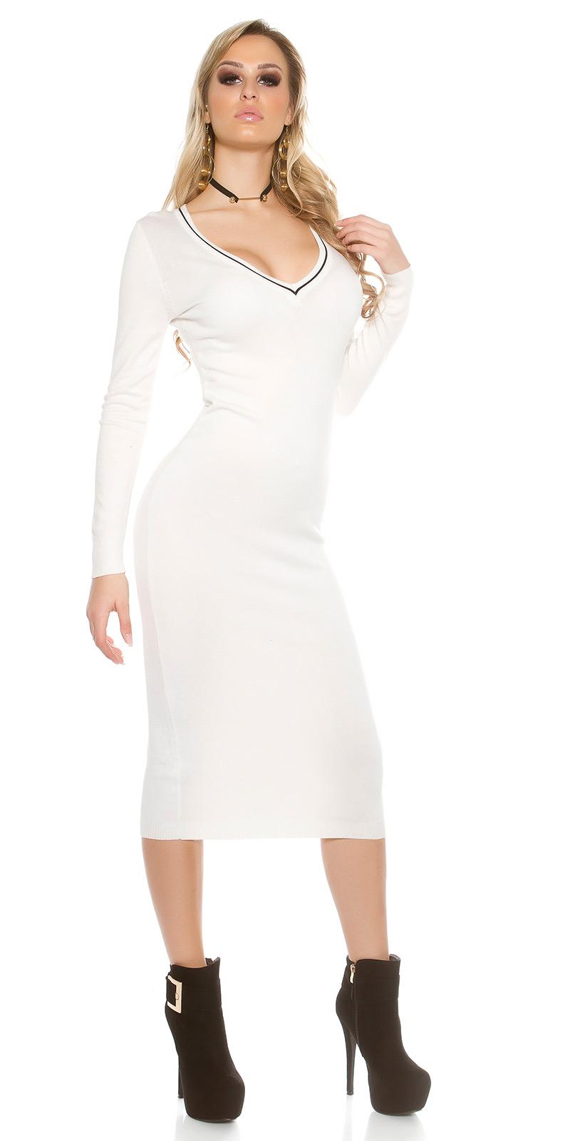 Dlouhé šaty 0000IN-201611 - white