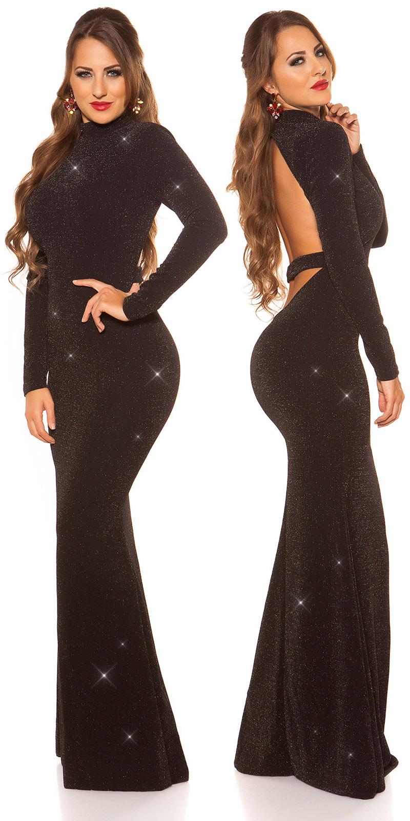 Plesové šaty 0000K198511 - blacksilver