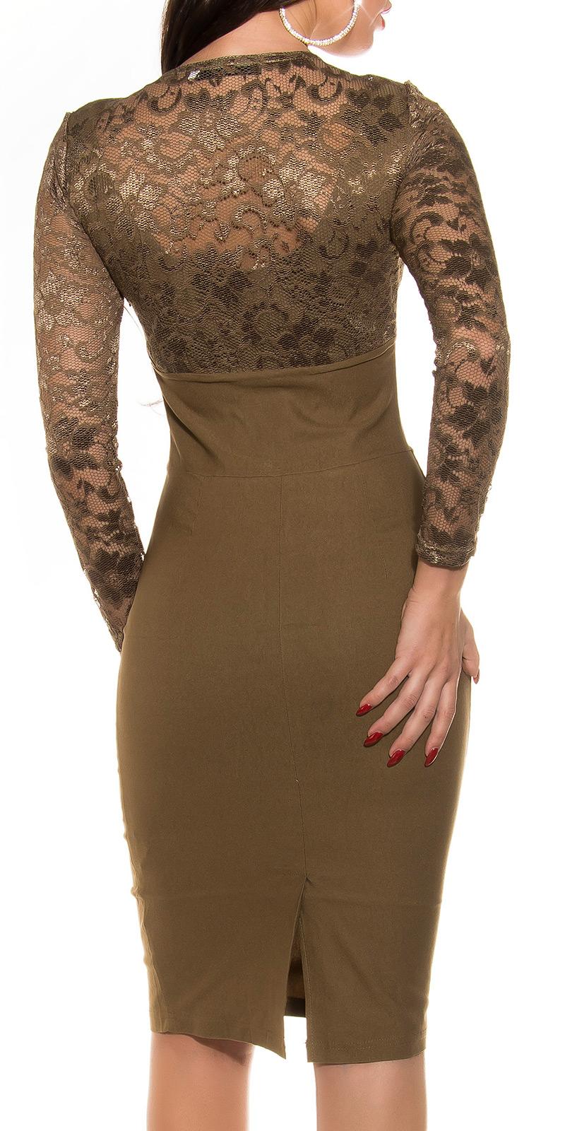 Plesové šaty 0000K9111 - Capuccino