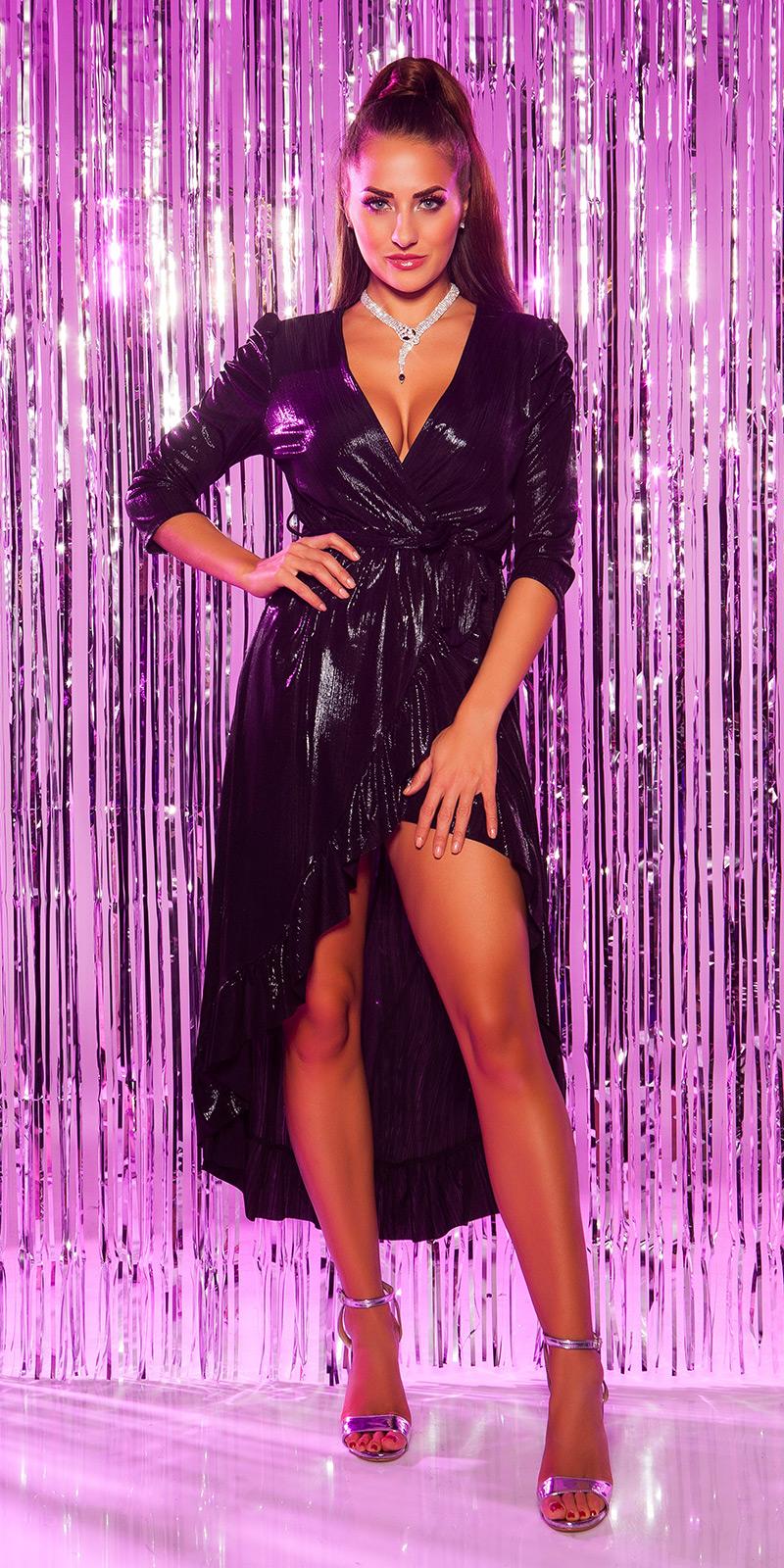 Plesové šaty 0000K3521 - Black