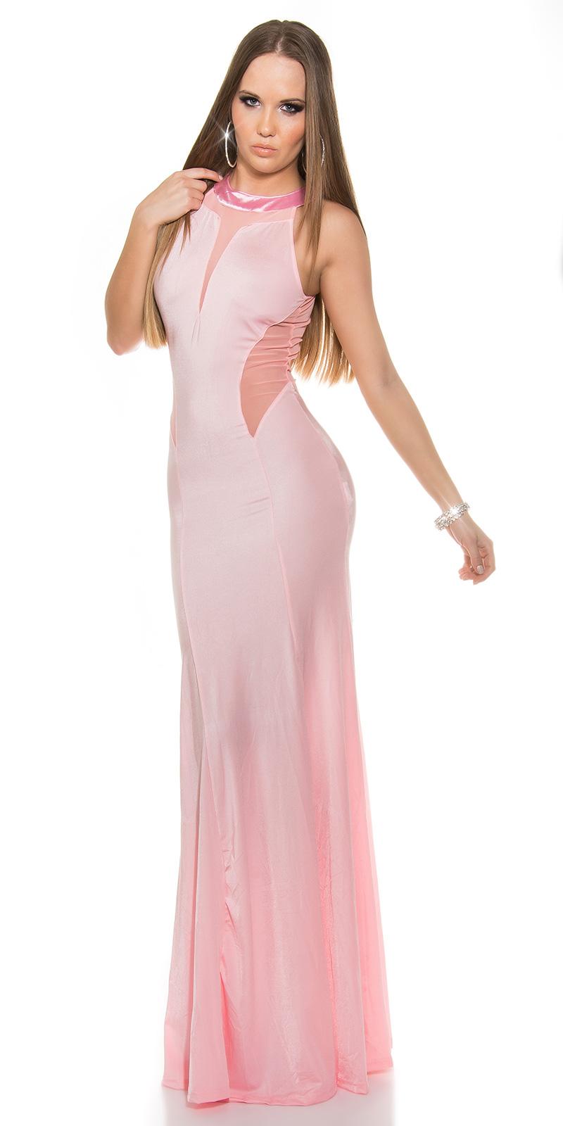 Dlouhé šaty 0000IN50366 - apricot