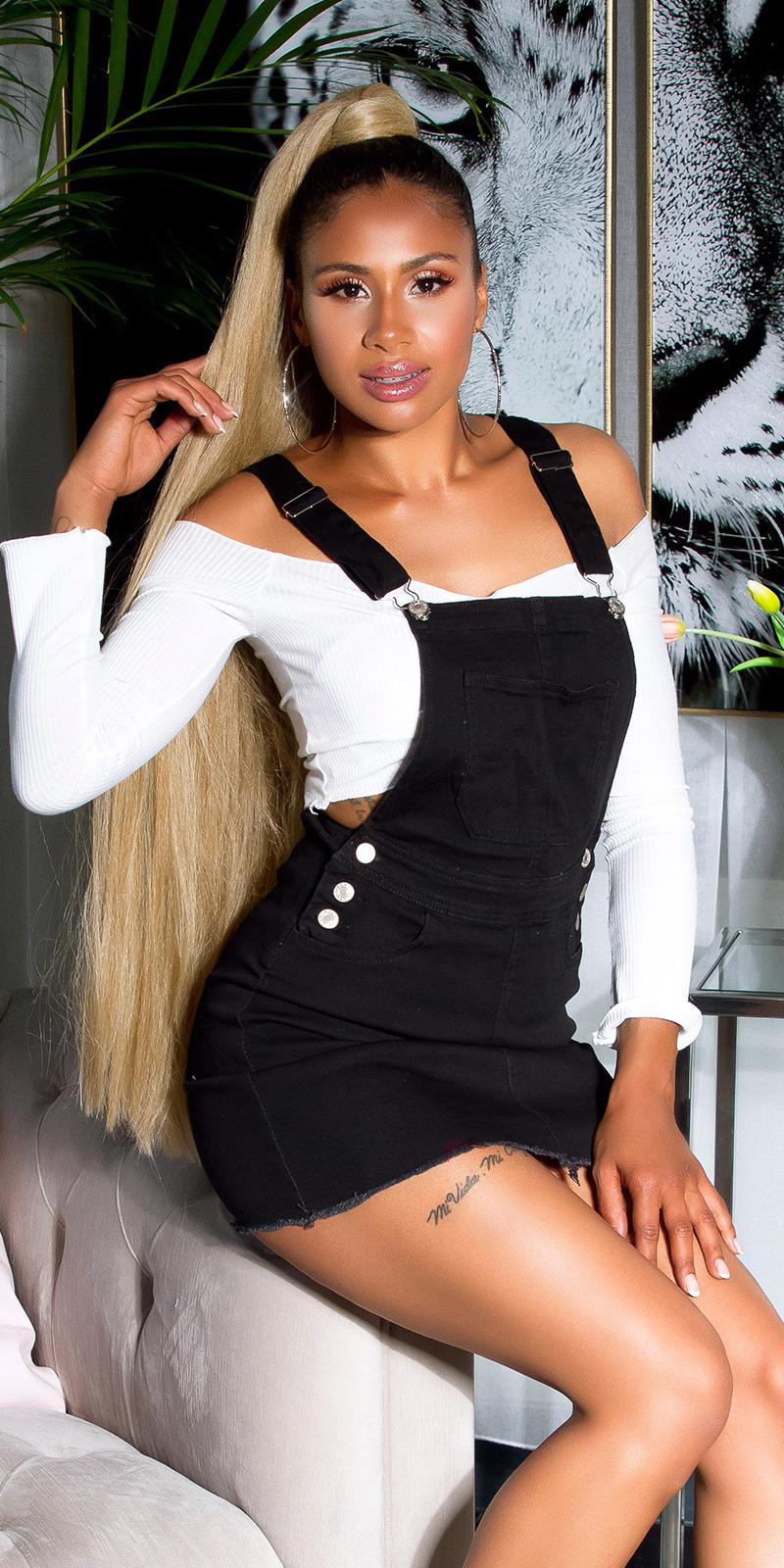 Krátké šaty 0000A2680 - Black