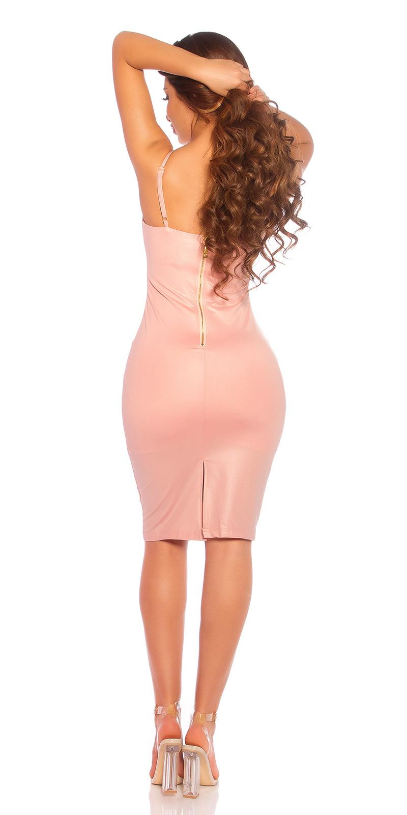 Krátké šaty 0000BK9477 - Rose