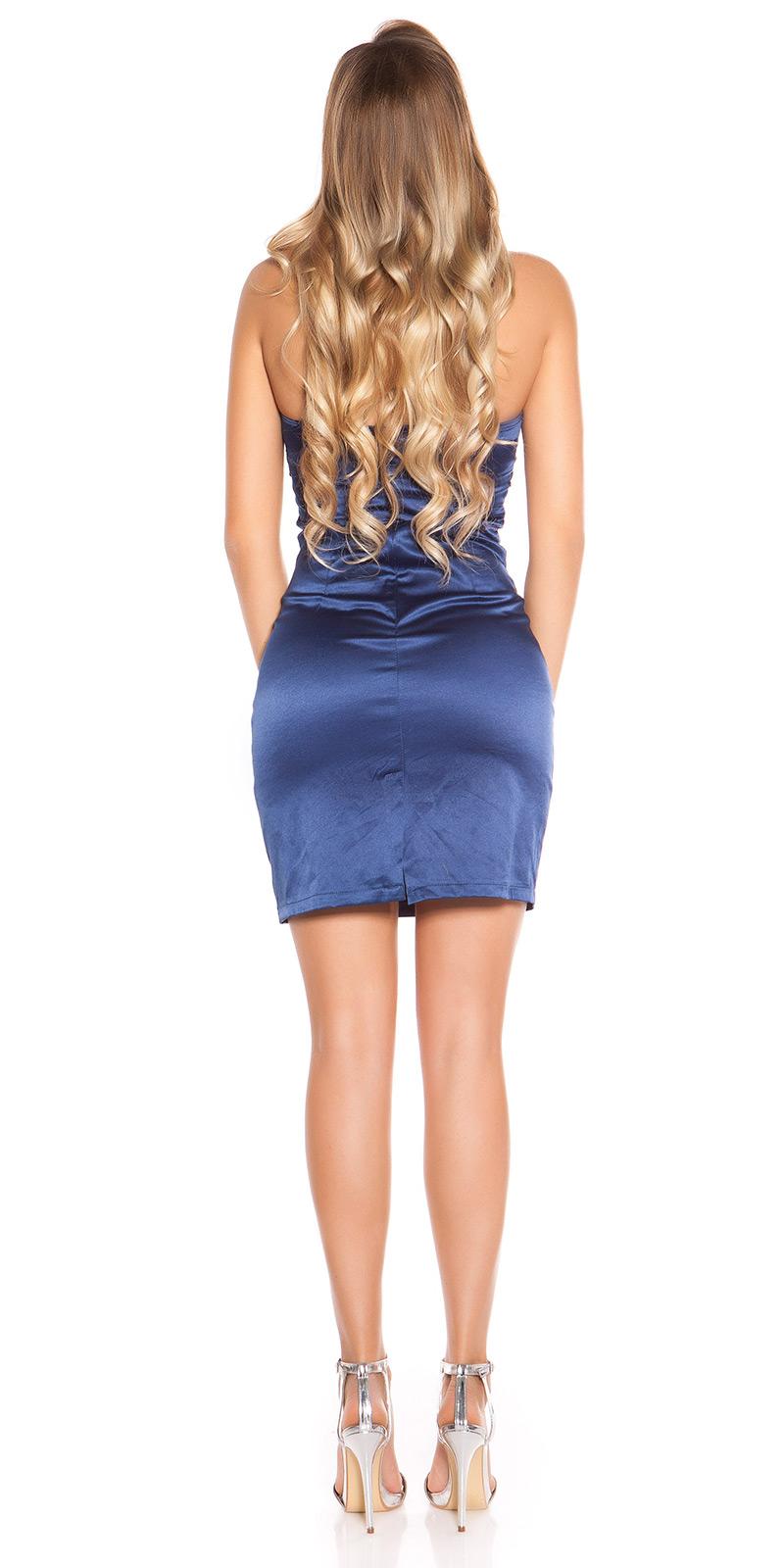 Koktejlové šaty 0000C170-N - blue