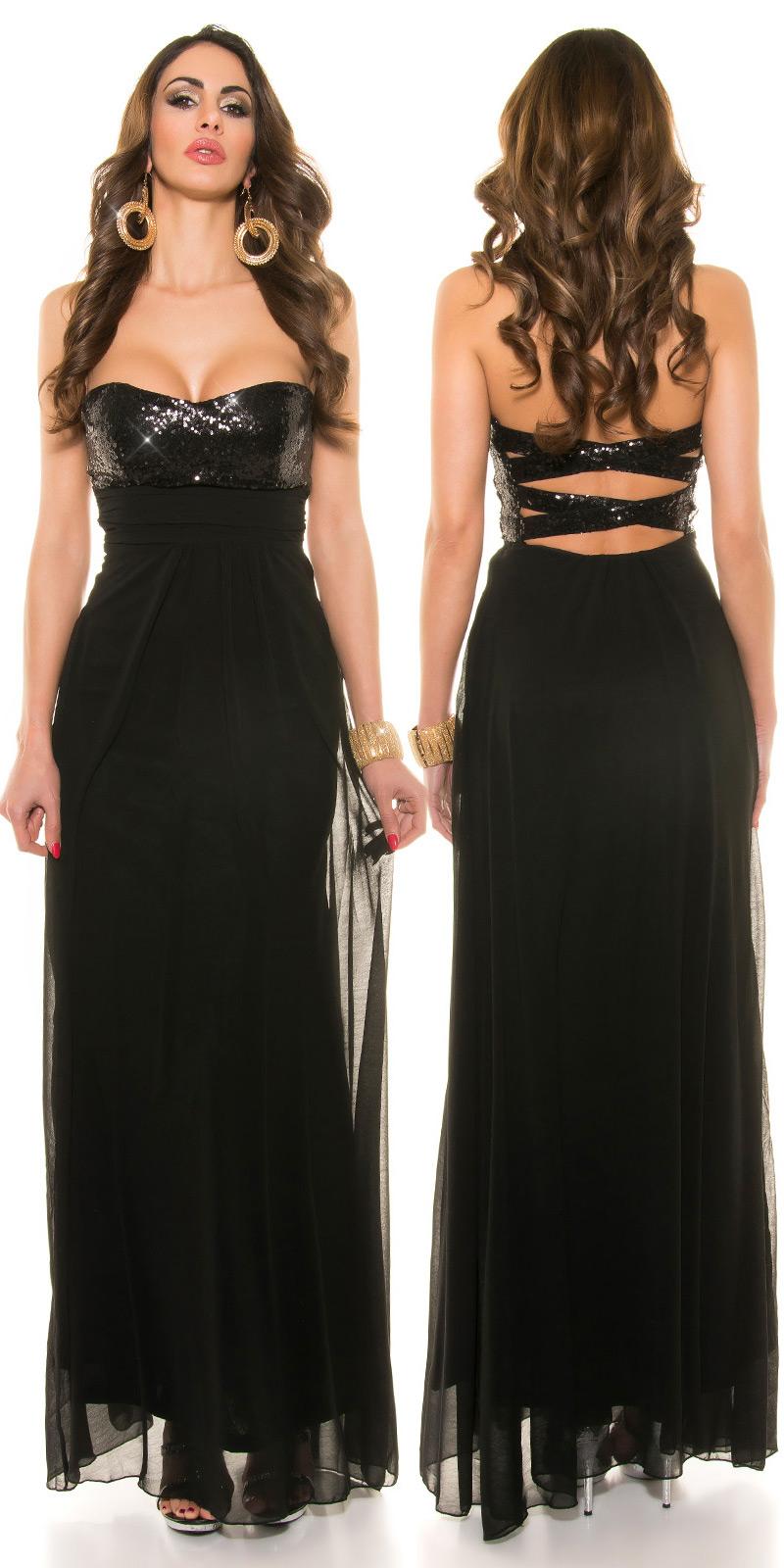 Dlouhé šaty 0000IN50590 - Black