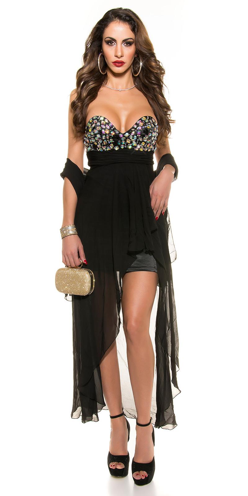 Plesové šaty 0000IN50569 - Black