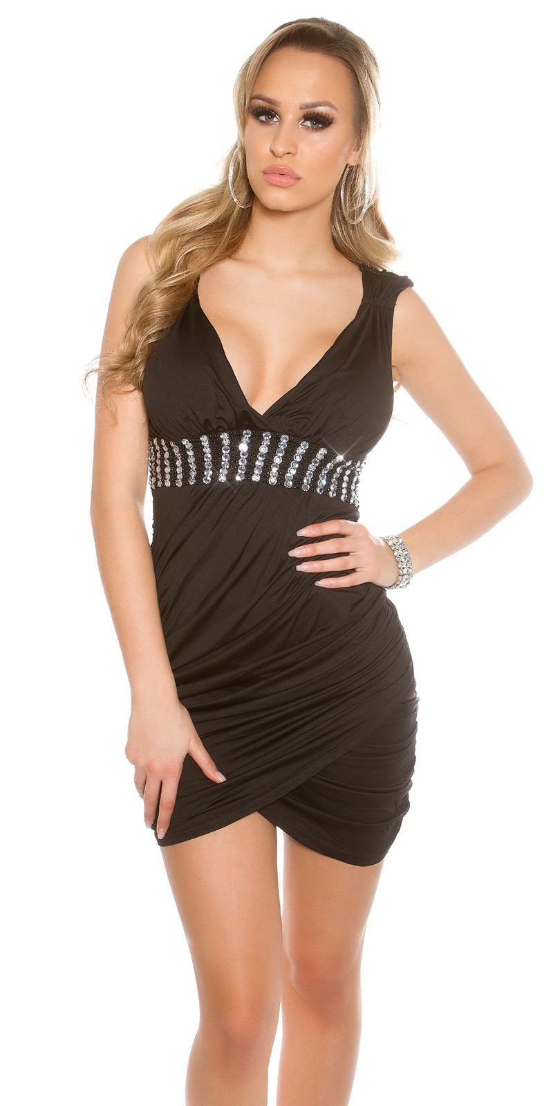 Krátké šaty 0000ISF9009-N - Black