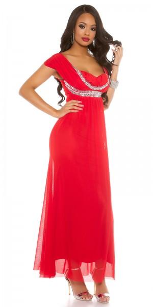 Red Carpet Look! Sexy KouCla Kleid + Glitzersteine