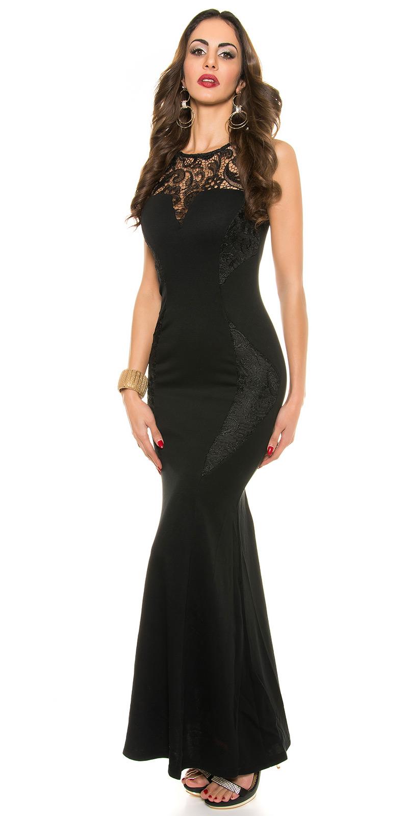 Plesové šaty 0000K18892 - Black