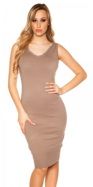 Sexy Koulcla Kleid mit Strass