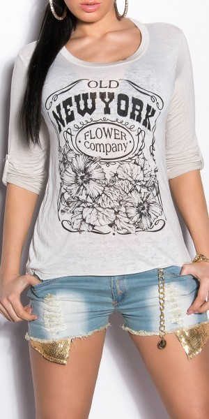 Sexy KouCla Shirt mit Print