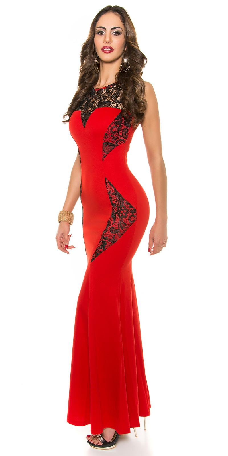 Plesové šaty 0000K18892 - red