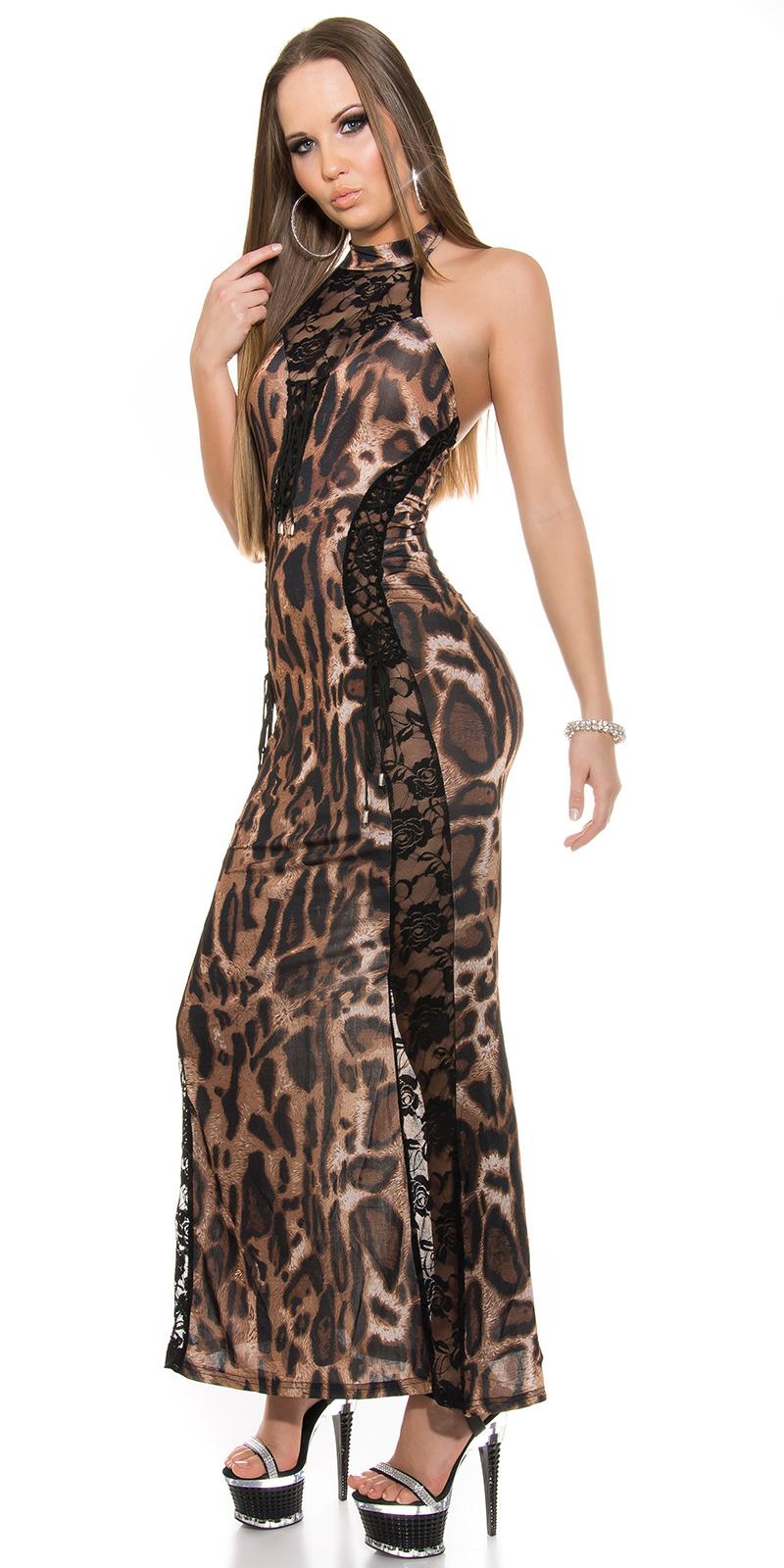 Dlouhé šaty 0000ISF-G5 - Leo